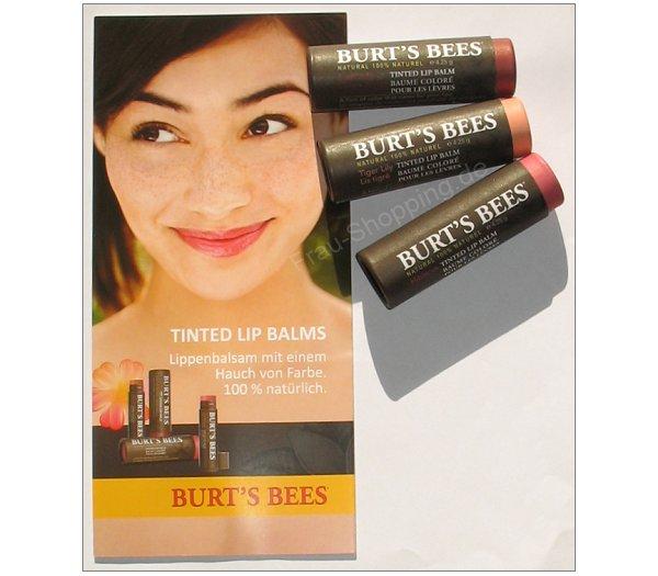 Burt's Bees Tinted Lip Balms