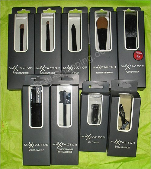 Max Factor Beauty Accessoires - Pinsel und Co.
