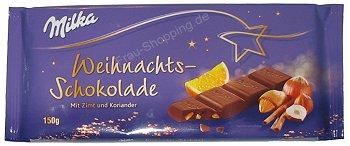 Milka Weihnachtsschokolade
