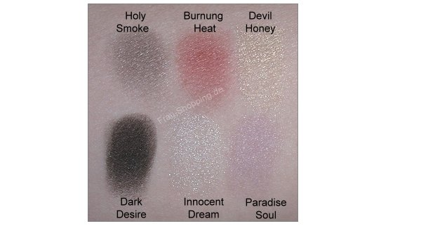 Manhattan Sinners & Saints Lidschatten Swatch