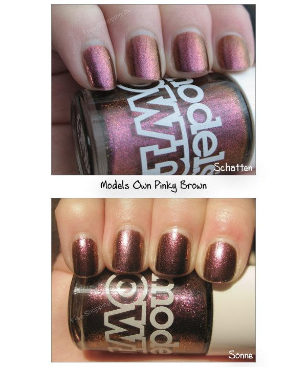 Swatch Models Own Beetlejuice Nagellack - Pinky Brown