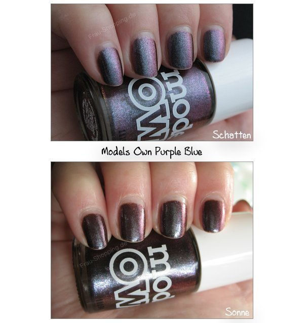 Swatch Models Own Beetlejuice Nagellack - Purple Blue