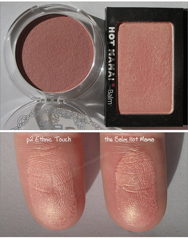 p2 Ethnic Touch Rouge ein Dupe zu Hot Mama?