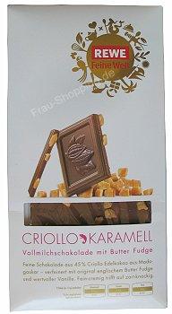 Rewe Feine Welt Criollo Karamell Schokolade