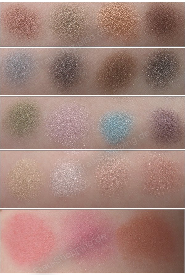 The Balm Muppets Palette vs. the Balm and the Beautiful Swatches