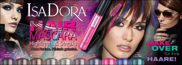 Preview: IsaDora Hair Mascara