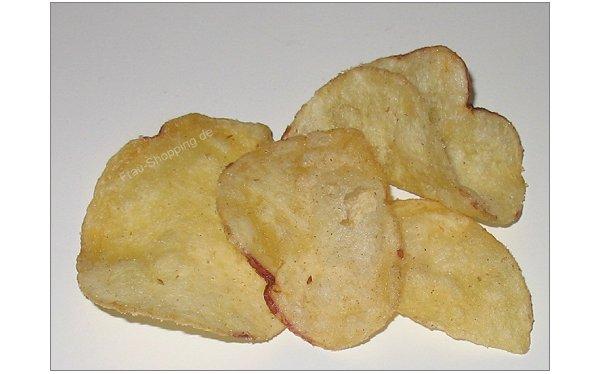 Burts Chips Vanilla Sea Salt ausgepackt