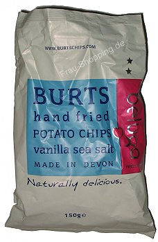 Burts Chips Vanilla Sea Salt