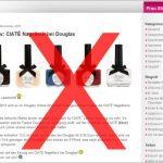 Schade: Doch kein Ciaté Nagellack bei Douglas