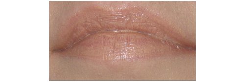 p2 Celebrate Beauty Lip Mousse 030 no calorie! 100 kisses aufgetragen
