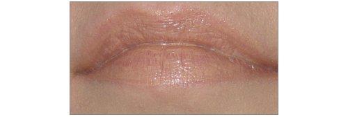 p2 Celebrate Beauty Lip Mousse 030 no calorie! 100 kisses aufgetragen