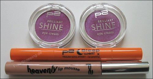 p2 Celebrate Beauty Produkte zum Ausprobieren von dm