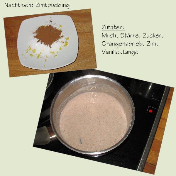 Nachtisch aus der Tastybox - Zimtpudding