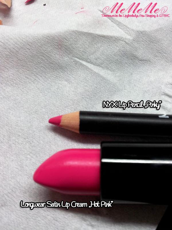 MeMeMe Lippenstift Hot Pink