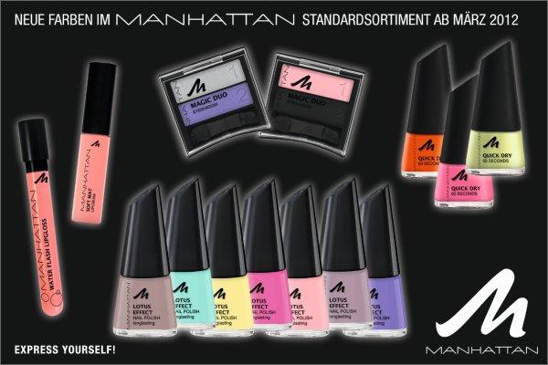 Neue Produkte im Standardsortiment von Manhattan ab März 2012
