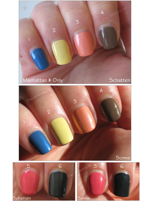 Manhattan Only Nagellacke Swatch