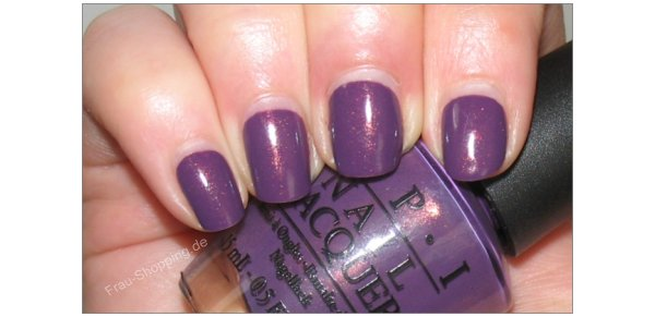 Frisch lackiert: OPI Dutch Ya Just Love OPI?