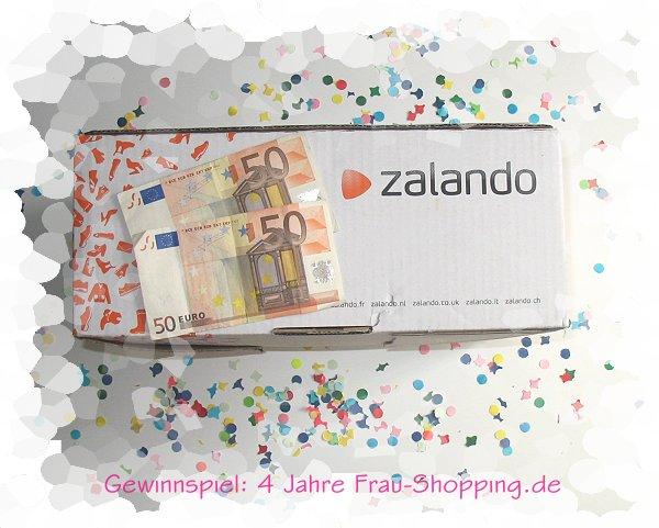 4 Jahre Frau Shopping - gewinne einen Gutschein von Zalando