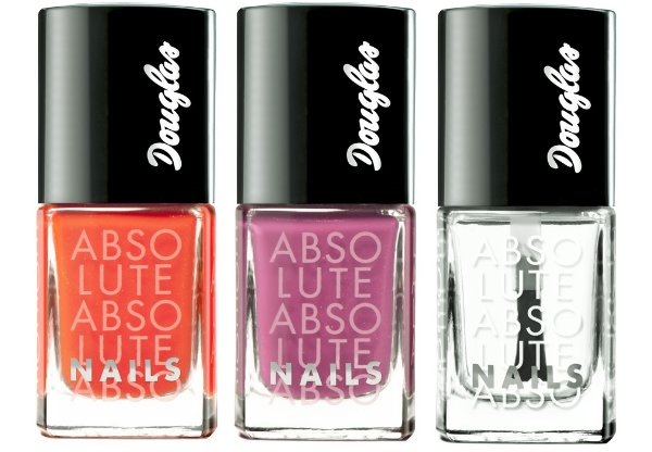 Preview: Douglas Absolute Nails Summer 2012