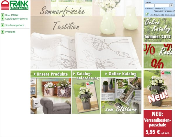 Tipp online shop frank flechtwaren for Flechtwaren frank katalog