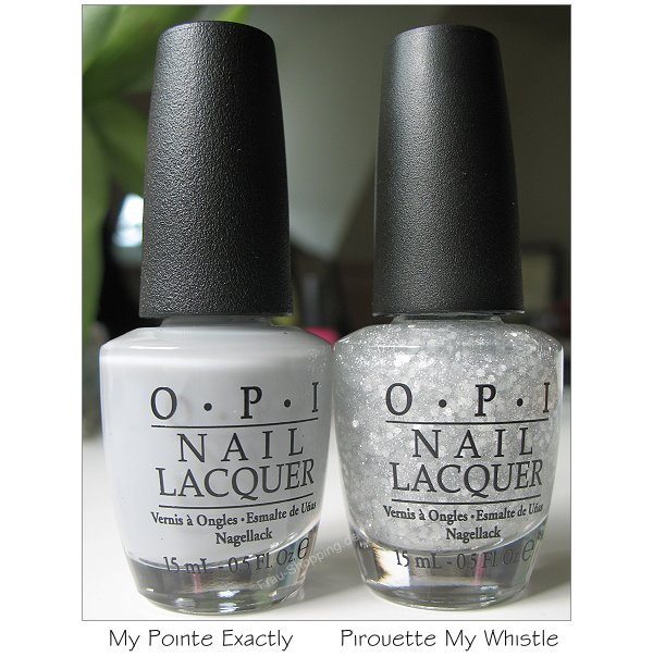 OPI My Pointe Exactly und OPI Pirouette My Whistle