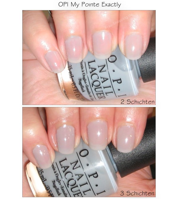 OPI My Pointe Exactly Swatch