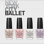 Preview: OPI New York City Ballet Kollektion