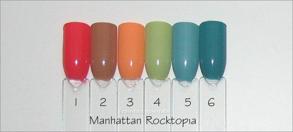 Manhattan Rocktopia Nagellacke Swatch