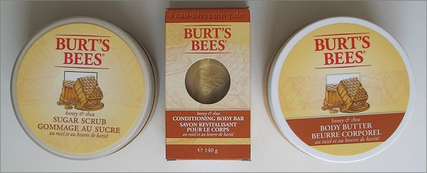 Burt's Bees Bars, Butters & Scrubs Honey & Shea