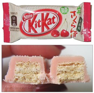 KitKat Cherry  - KitKat Kirsch