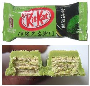 KitKat Green Tea Matcha - KitKat Grüner Tee