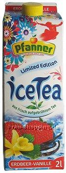 Pfanner Ice Tea Erdbeer-Vanille