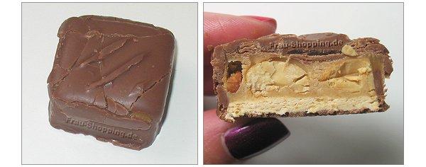 Snickers Peanut Butter ausgepackt