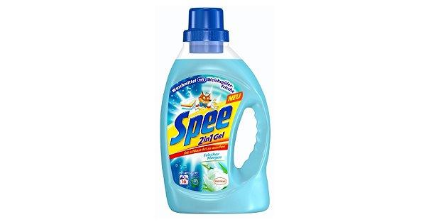 Neu im Supermarkt ab Juli 2012 - Spee 2in1 Waschmittel mit Weichspüler