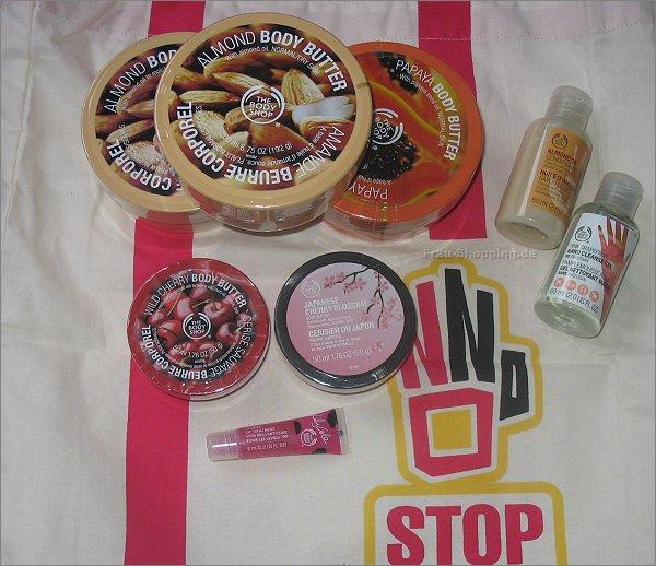 Sale bei The Body Shop - mein Einkauf