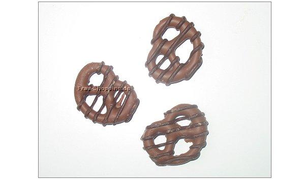 Choclait Chips Knusper-Brezeln ausgepackt