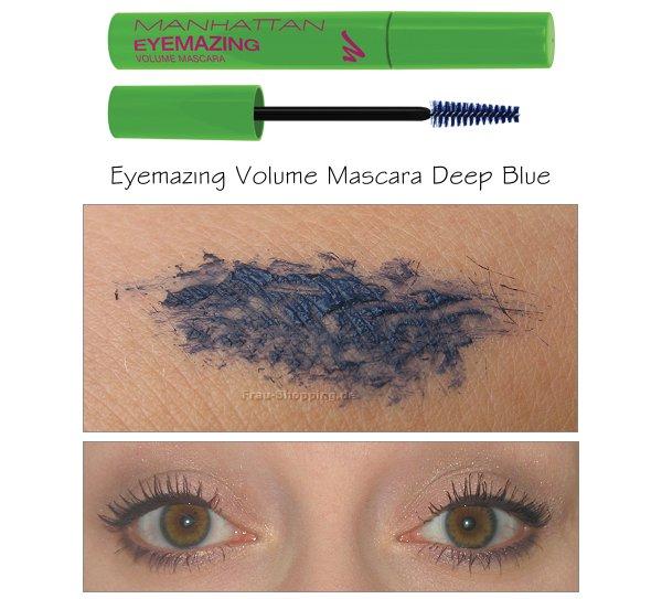 Manhattan Eyemazing Mascara Deep Blue