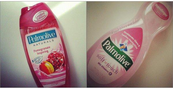 Aus meinem Einkaufswagen - Palmolive Duschgel und Palmolive Spülmittel