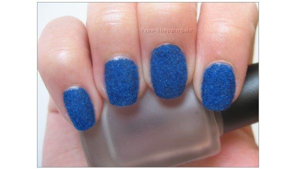Samt Maniküre oder Nails Velvet Art