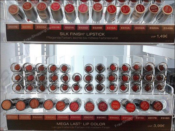 Das neue Wet'n'Wild Sortiment - noch mehr Lippenstifte