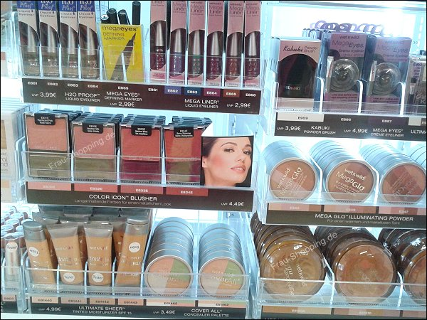 Das neue Wet'n'Wild Sortiment - Foundation, Concealer, Highlighter und Bronzer