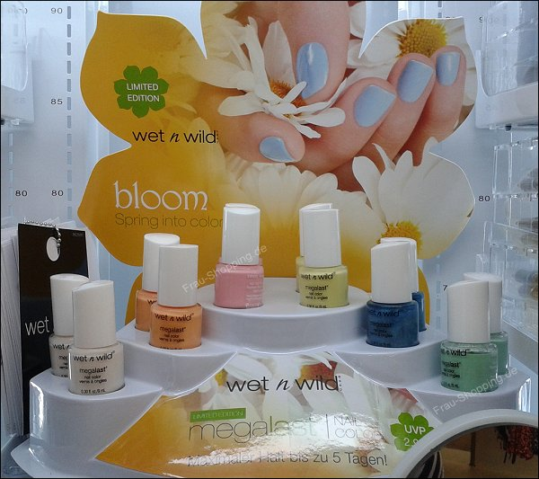 Wet'n'Wild bloom LE in der neuen Theke
