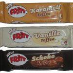 Fritt Karamell, Fritt Vanille und Fritt Schoko