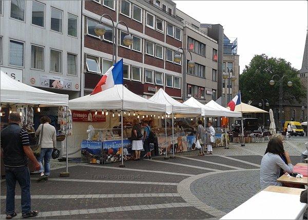 Französischer Gourmetmarkt in Bochum