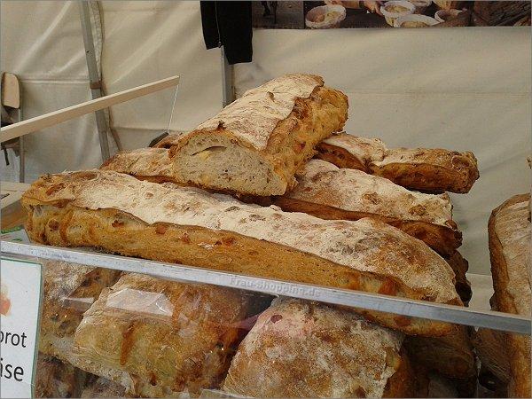 Brot auf dem französischen Markt