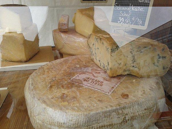 Käse auf dem französischen Markt