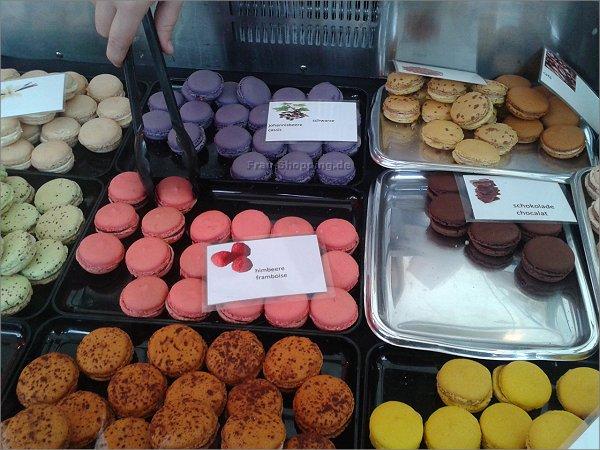 Macarons aus Paris auf dem Markt in Bochum