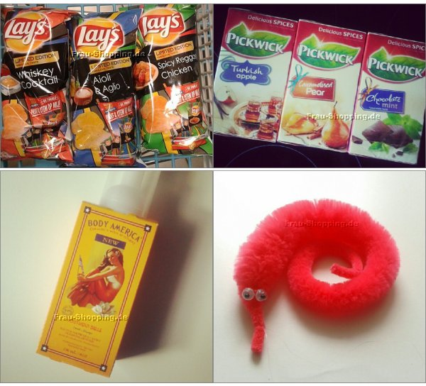 Einkaufen in Holland: Chips, Tee, Duschzeugs und Willi