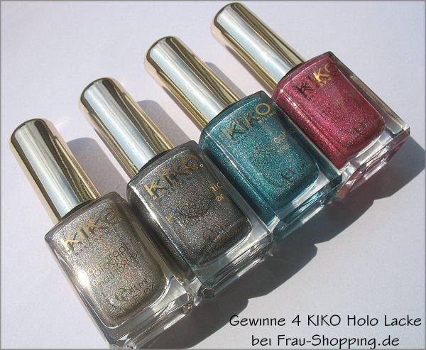 Holographische Nagellacke von KIKO