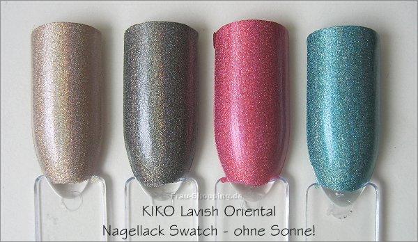 KIKO Lavish Oriental Holo Nagellack Swatch